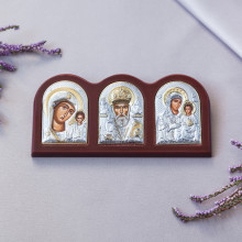 Триптих зі Святим Миколаєм, Богородицею Казанською та Богородицею Єрусалимською