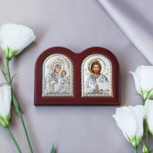 Диптих Богородиця Єрусалимська та Спаситель
