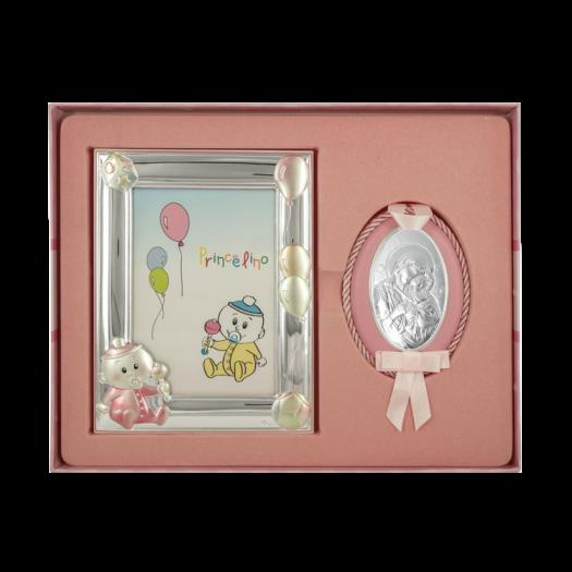 Дитячий набір Марія з немовлям та рамочкою Пупсик для дівчинки