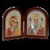 Диптих Богородиця Казанська та Святий Миколай