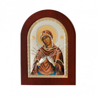 Богородица Семистрельная с магнитом