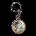 Ікона подвійна Спаситель та Богородиця Казанська на металевому брелоку