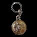 Ікона подвійна Микола Чудотворець та Спаситель на металевому брелоку
