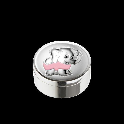 Дитяча коробочка для перших зубчиків Слоненятко для дівчинки