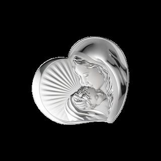 Ікона дитяча Діва Марія з Немовлям на магніті