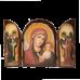 Триптих з Казанською Божою Матір'ю