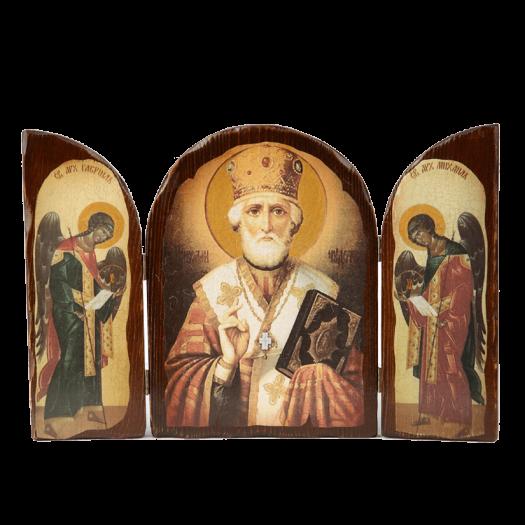 Триптих зі Святим Миколаєм