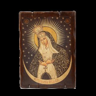 Икона с Остробрамской Божьей Матерью