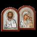 Вінчальна пара Спаситель та Богородиця